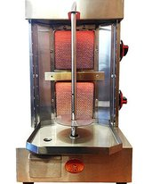 Shawarma Machine Vertical Broiler   5 In 1 Rotisserie Backyard Grill